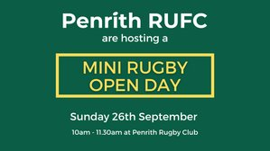 Mini Rugby Open Day for U7s to U12s
