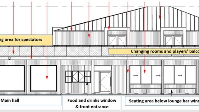 New pavilion plans