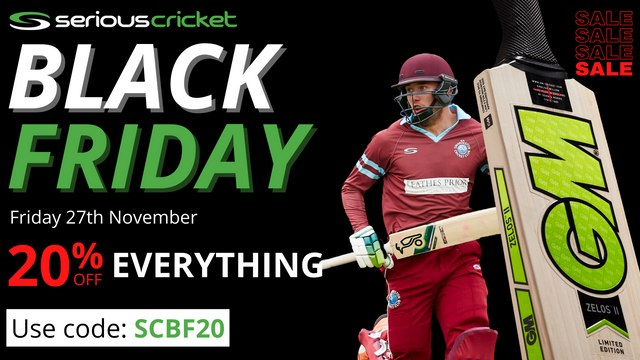 Serious Cricket Black Friday Sale