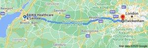 Lockdown 2.0 Challenge: BAWA to Twickenham