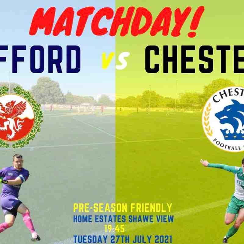 2021.07.27 Chester (H) Friendly