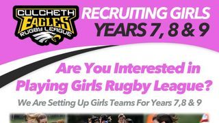 Girls Rugby Comes to Culcheth
