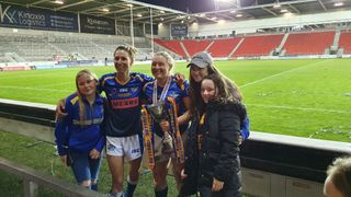 Girls At The Ladies Cup Final