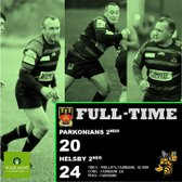 Parkonians 2nds 20 Helsby 2nds 24