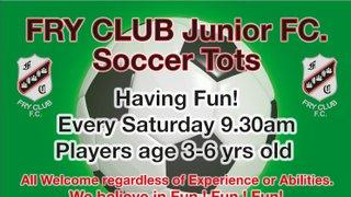 Fry Club soccer Tots Advert