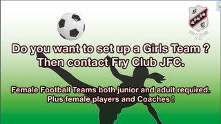 Girls Team Advert