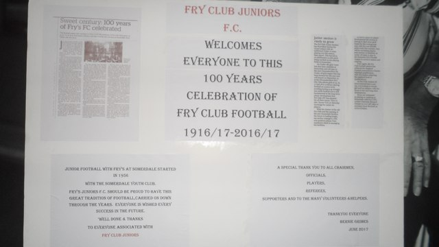Fry Club Juniors Presentation