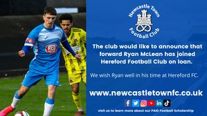 McLean joins Hereford FC on loan