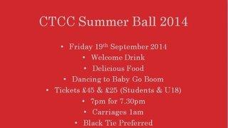 Summer Ball 2014
