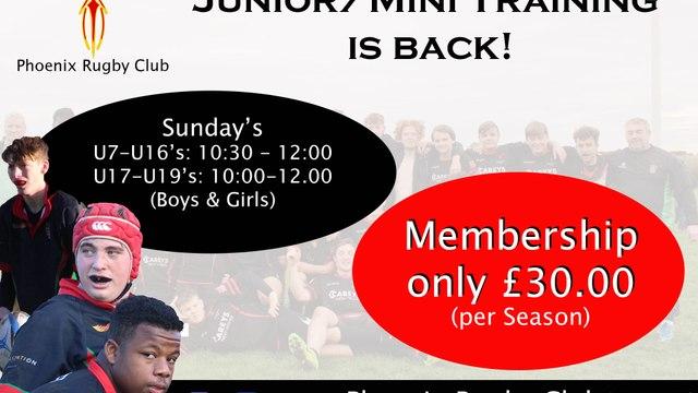Mini/Junior Training