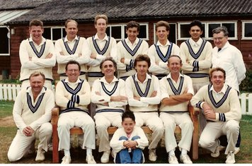 1989 2nd XI Sy Championship winners
