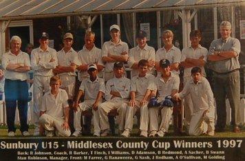 1997 u15s champions