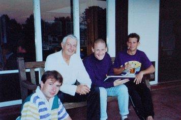 1990 Micky serpent, Wally hammond, Phil Jordan & Paul Bennett