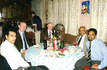 99 Lord's reunion - peter browne, raj sood & family