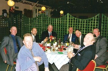 1999 Lords reunion-- jack porter, chris page, bruce beatty, holms carlile, gerald day, brian eastman, tony schaffer, dave boothman