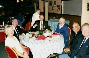1999 Lord's reunion - ivor smith, phil forman, sham & valerie nayyar, les & yvonne wood