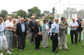 2009 plenty of 'old faces' at the nets opening ceremony