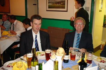 2003 Players Supper Roy Cattley& Les Wood