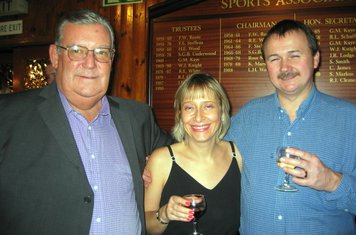 2003 Brian Eastman, Ian Chappell and Joanne