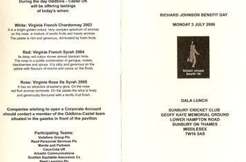 2006 Richard Johnson day