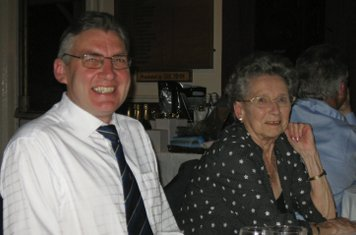 2008 Players Supper- Mick Mumford & Mavis Mcandrew