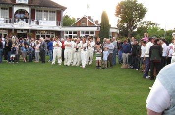 2008 Ev Std Final at Ealing - disappointment