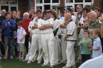 2008 Ev Std Final at Ealing-disappointment