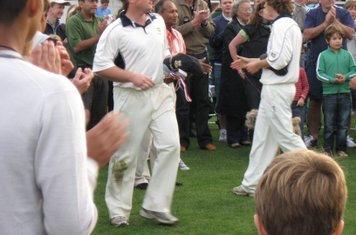2008 Ev Std Final at Ealing-time to collect consolation prizes for John Maunders and Adam Stanier