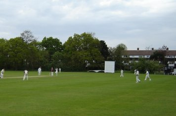 2008 2s batting v Reigate Priory
