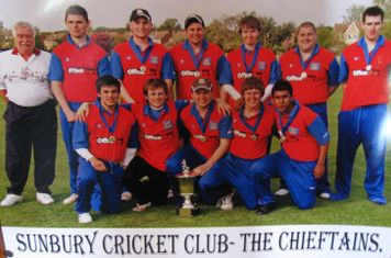 2009 Scc chieftains - dev lge cup winners