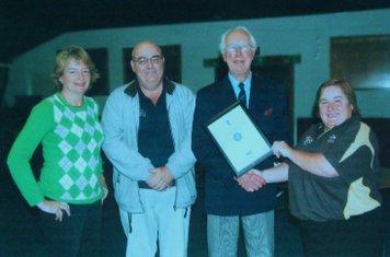 2010 nets award to Penny Hughes, Micky Lowe & Frank Sharman by SCB1