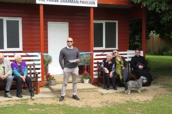 2019 David Nash paying tribute to Frank Sharman