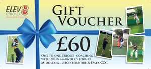 John Maunders One to One Coaching Gift Vouchers