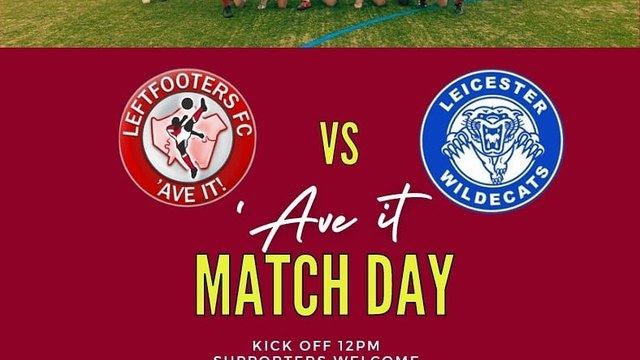 Leftfooters return to action against Leicester Wildecats