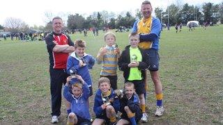Under 8s tournament Poole RFC 150412
