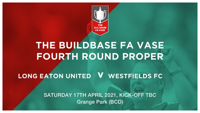 Update on our FA Vase Fourth Round tie