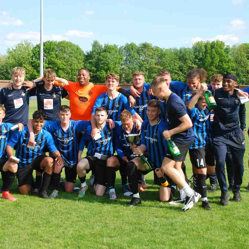 2020/21 Long Eaton United CFC - Central Midland Football League Division One South Champions