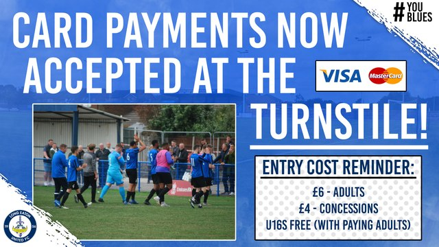 Card Payments Now Accepted at the Turnstile