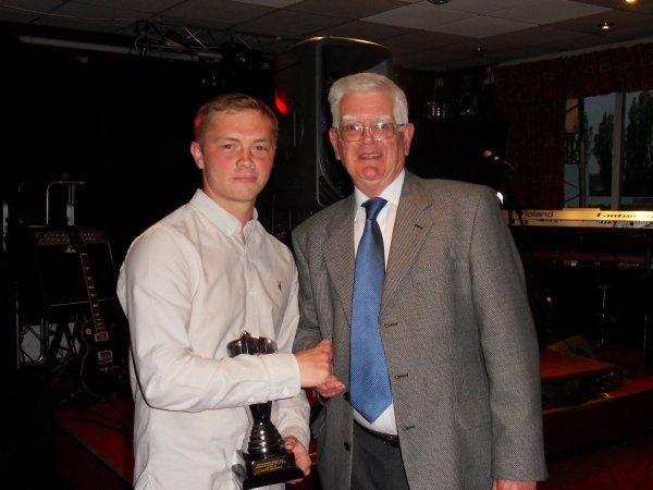 Committee Player of the Year (In memory of Alan Pitt) - Sean Geddes