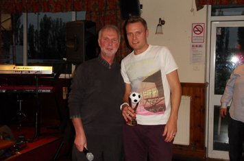 Supporters 'Man of the Match Award' Winner (In memory of Steve Hickman) - Leon Broadhurst