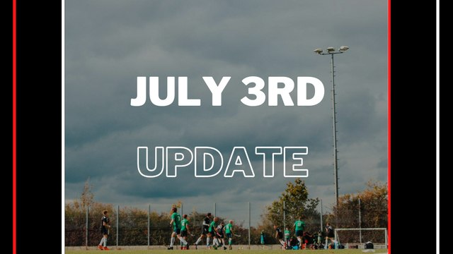 July 3rd Update