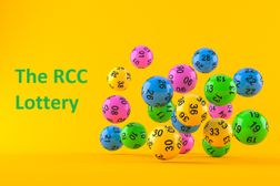 July 2021 RCC Lottery Draw - £380 total pay-out to members this month