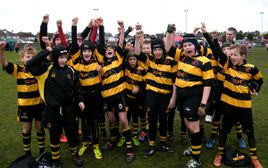 Dragons flying high at the U11s Lancashire Mini Festival Cup finals day