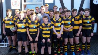 Leigh Dragons get support from MP Andy Burnham