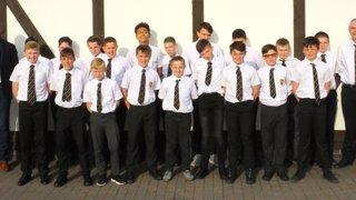 Leigh Ospreys U12s Presentation Evening 2016/17