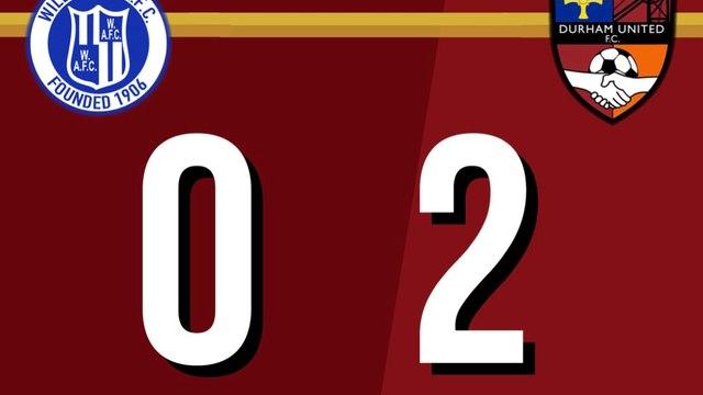 Willington 0-2 Durham United