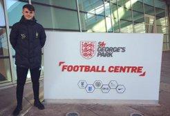Zak Pearson promoted to U21's coaching staff.