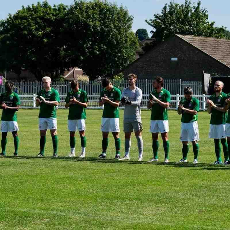 Men's 1st Team Vs Harrowby United (A) - Pre-season