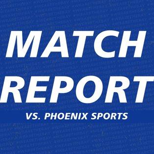 Match Report vs Phoenix Sports Club by John Bathurst