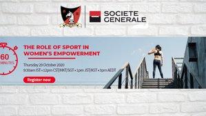 Live Webinar: The role of sport in women's empowerment (29 Oct)